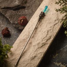 Палочка для волос с голубым горным хрусталем