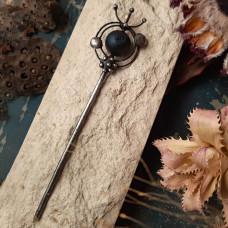Палочка для волос с кварцем и титановым покрытием