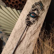 Палочка для волос Йони с бусинками