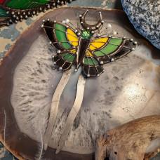 Гребень Бабочка желто-зеленая