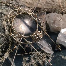 Подвеска Вечное сияние чистого разума Кварц c серебрением