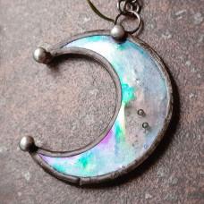 Лунница прозрачная иризационная
