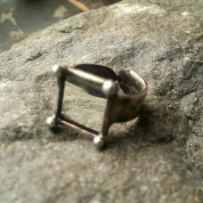 Кольцо Зеркальный квадрат